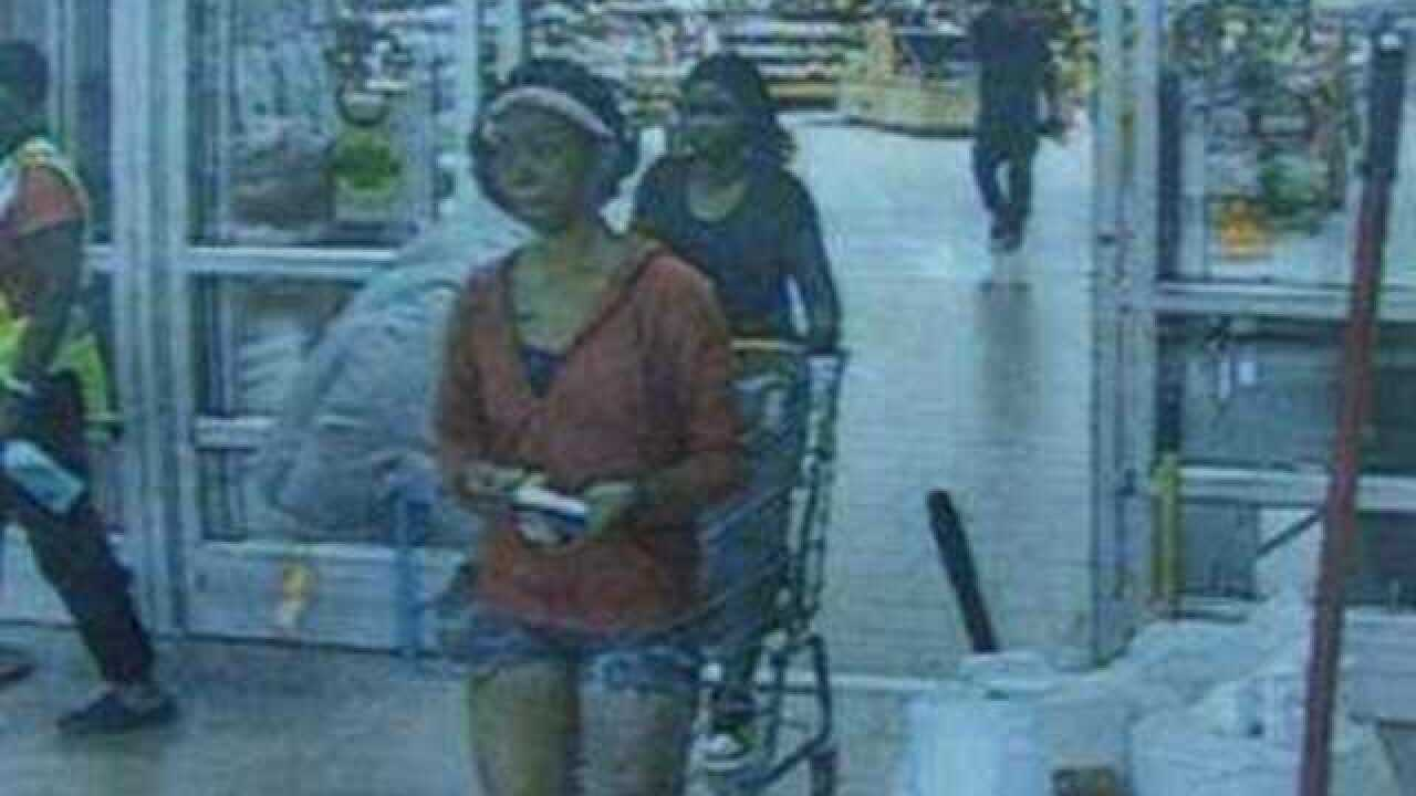 Pair sought in string of fake Walmart purchases