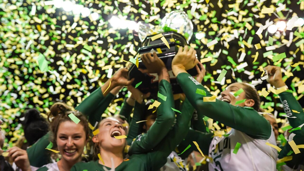 Baylor Volleyball wins Big 12