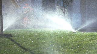 Blow out the sprinkler system, not yourwallet!