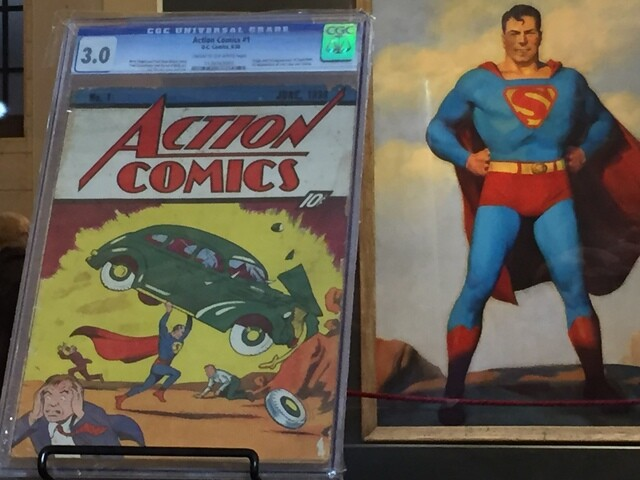 Superman: 'From Cleveland to Krypton' exhibit unveiled at main branch of Cleveland Public Library