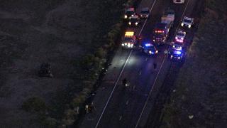 I-10 rollover crash