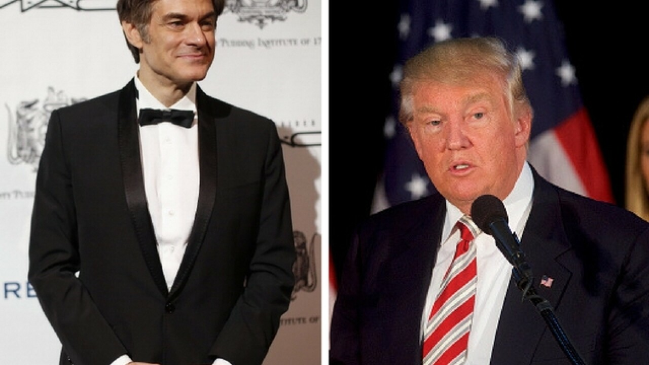 Donald Trump to appear on Dr. Oz, discuss health