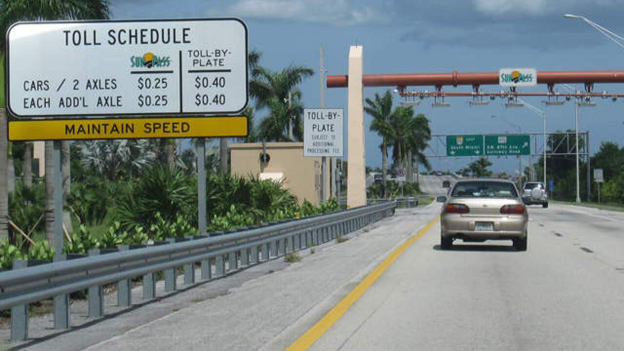 Florida promises to reimburse drivers after SunPass toll troubles