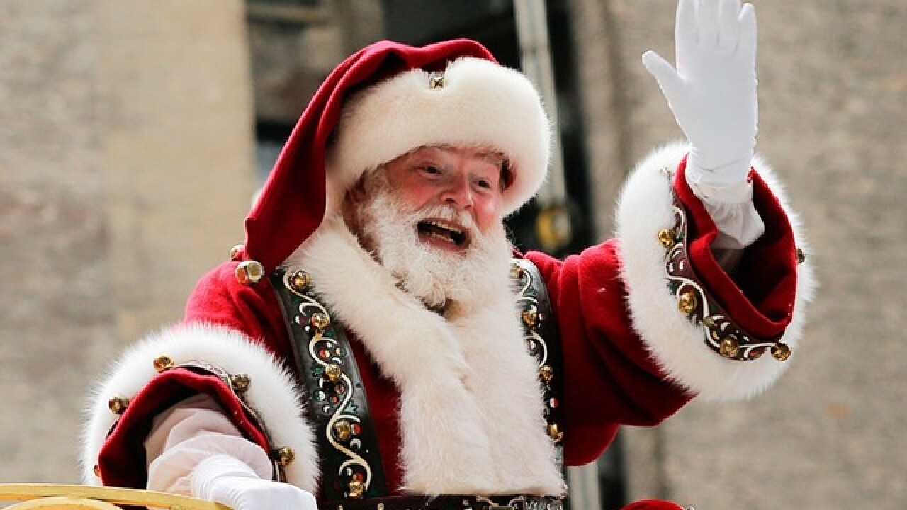 Free fun with Santa and Mrs. Claus at Park West