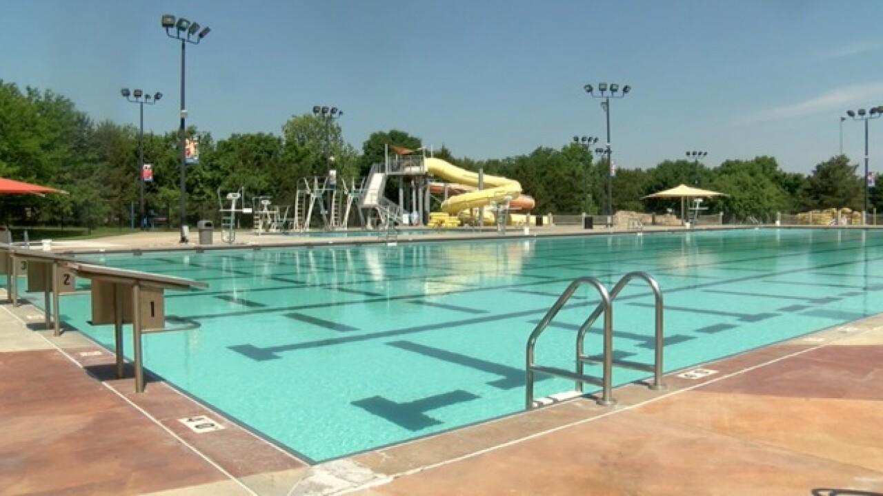 JoCo pools prep for Memorial Day weekend
