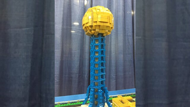 Photos: LEGO Art From Tennessee Includes Sunsphere
