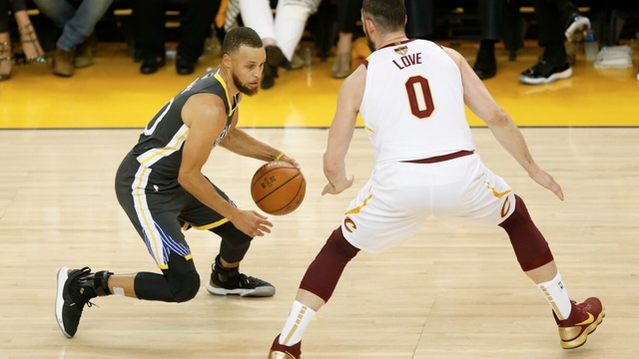 Unable to recover from heartbreaking Game 1 loss, Cavs fall to Warriors 122-103