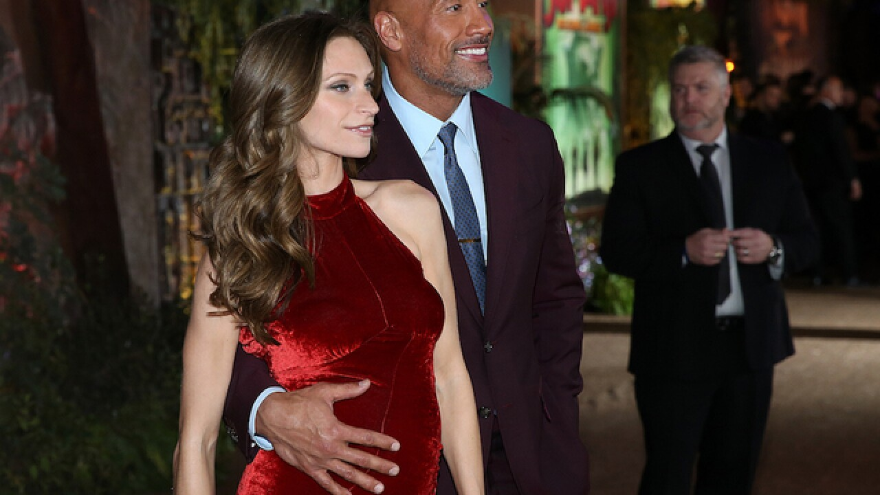 Dwayne 'The Rock' Johnson and girlfriend are having a girl