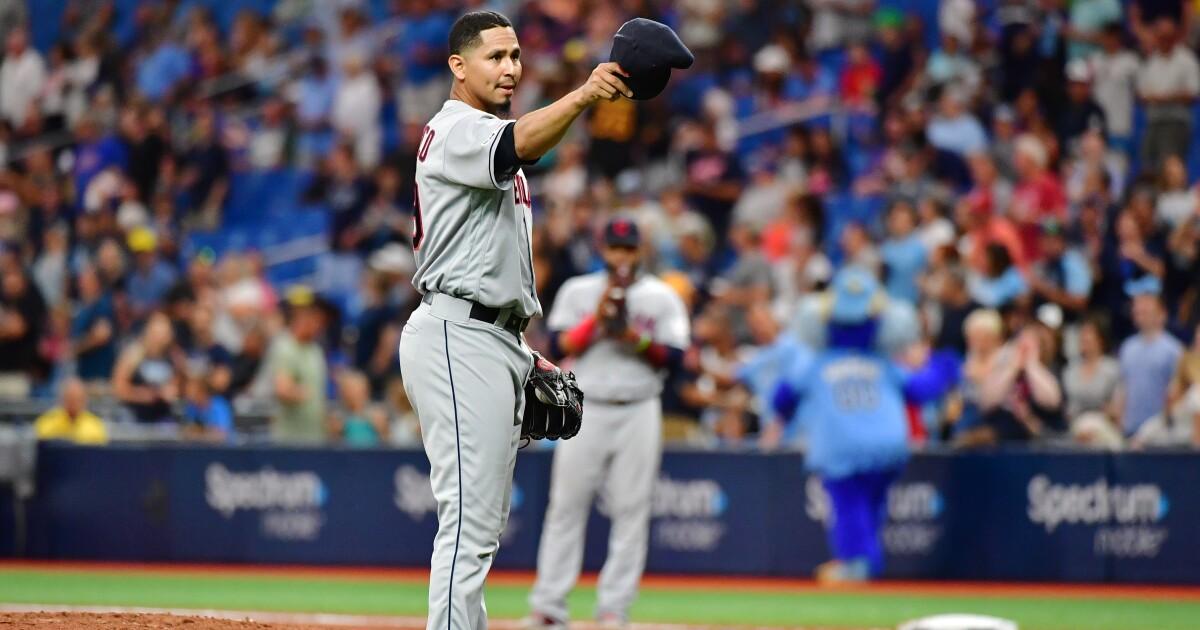 Indians' Carlos Carrasco nominated for Roberto Clemente Award