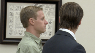 Man charged with removing Kalispell Ten Commandments monument found guilty