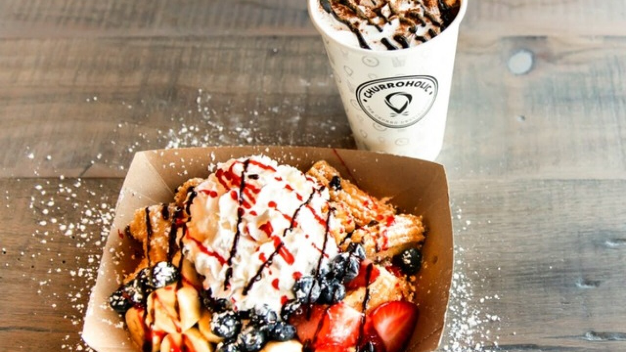 Churroholic, a churro dessert shop, to open at Tempe Marketplace in early 2019