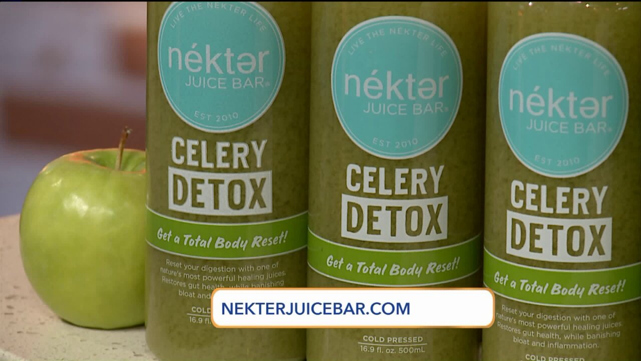 Celebrating National Green Juice Day with this Detox JuiceRecipe
