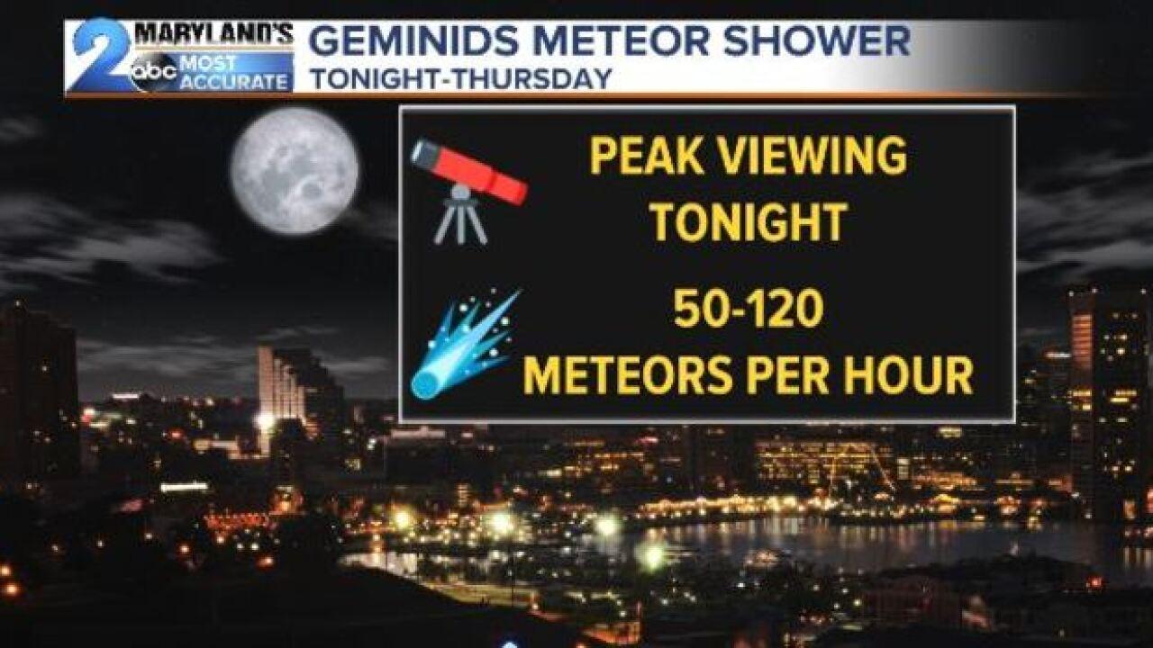 DECEMBER SKY SHOW: The Geminids & Comet 46-P