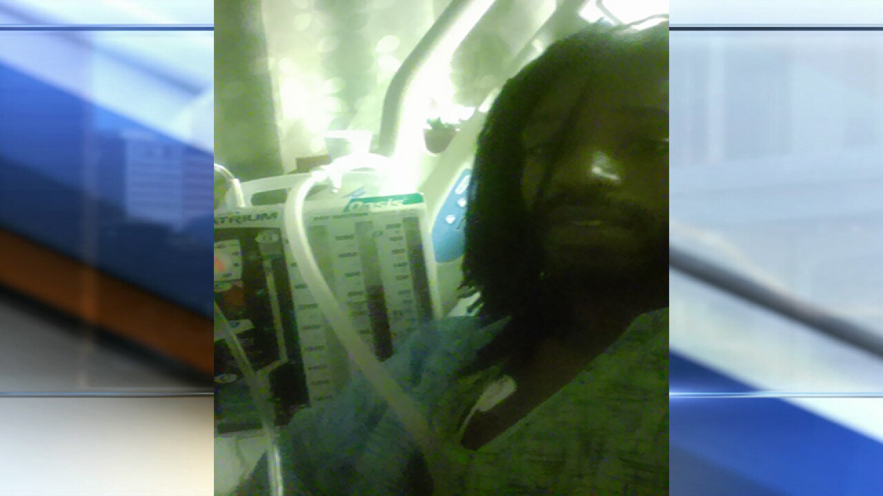 Video shows man pushed through city bus window