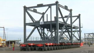 Port of Iberia begins year-long project
