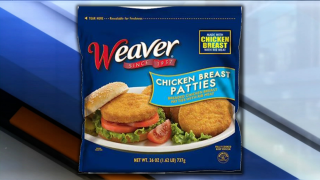 Tyson recalls more than 39K pounds of frozen chicken patties due to 'extraneous materials'