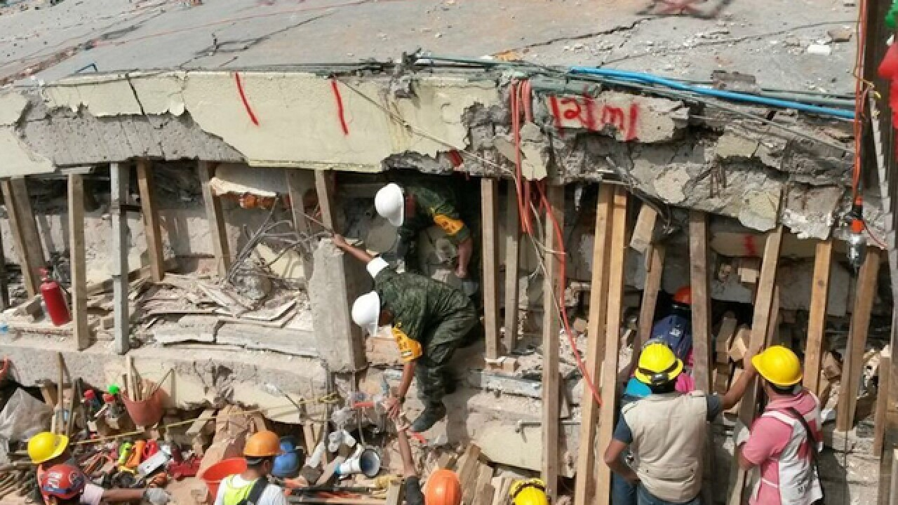 Mexico school collapse: All students accounted for