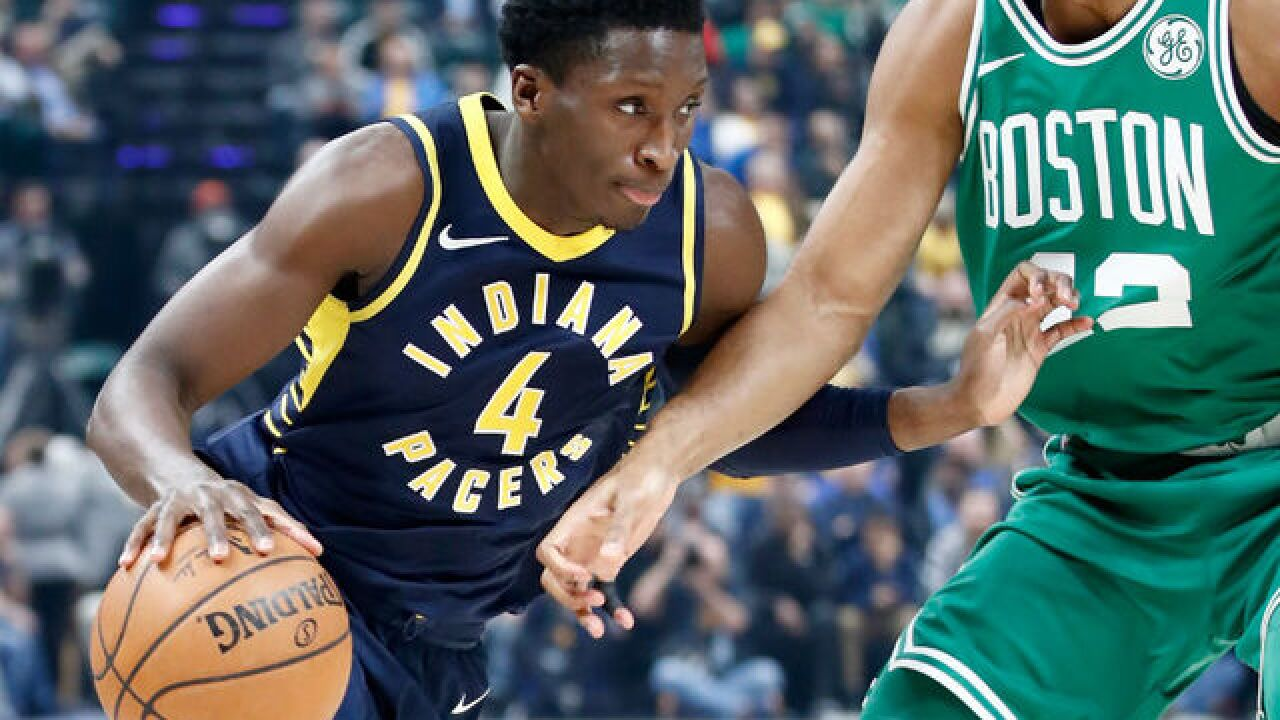 Rozier's dunk caps Celtics' rally to 112-111 win over Pacers