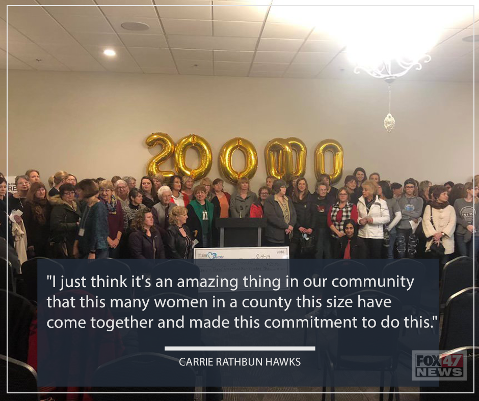 Carrie Rathbun Hawks shares her thoughts on this experience