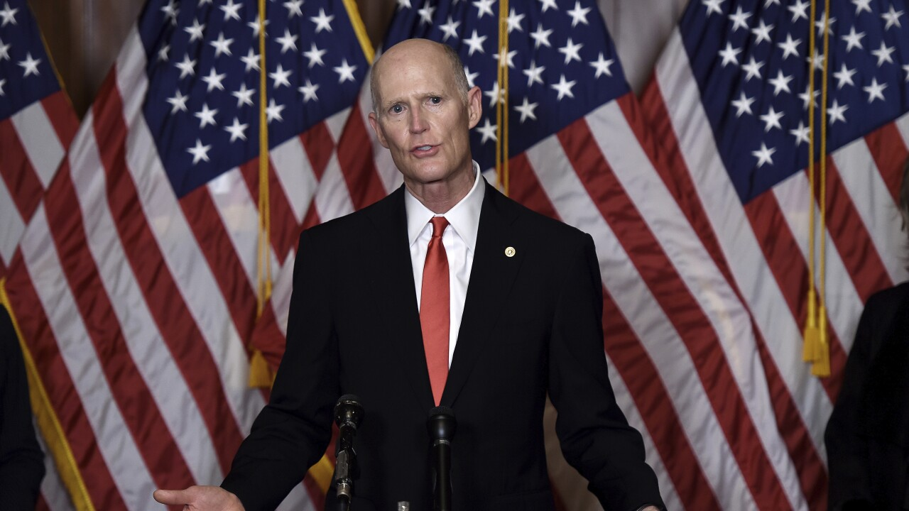 Sen. Rick Scott in October 2020