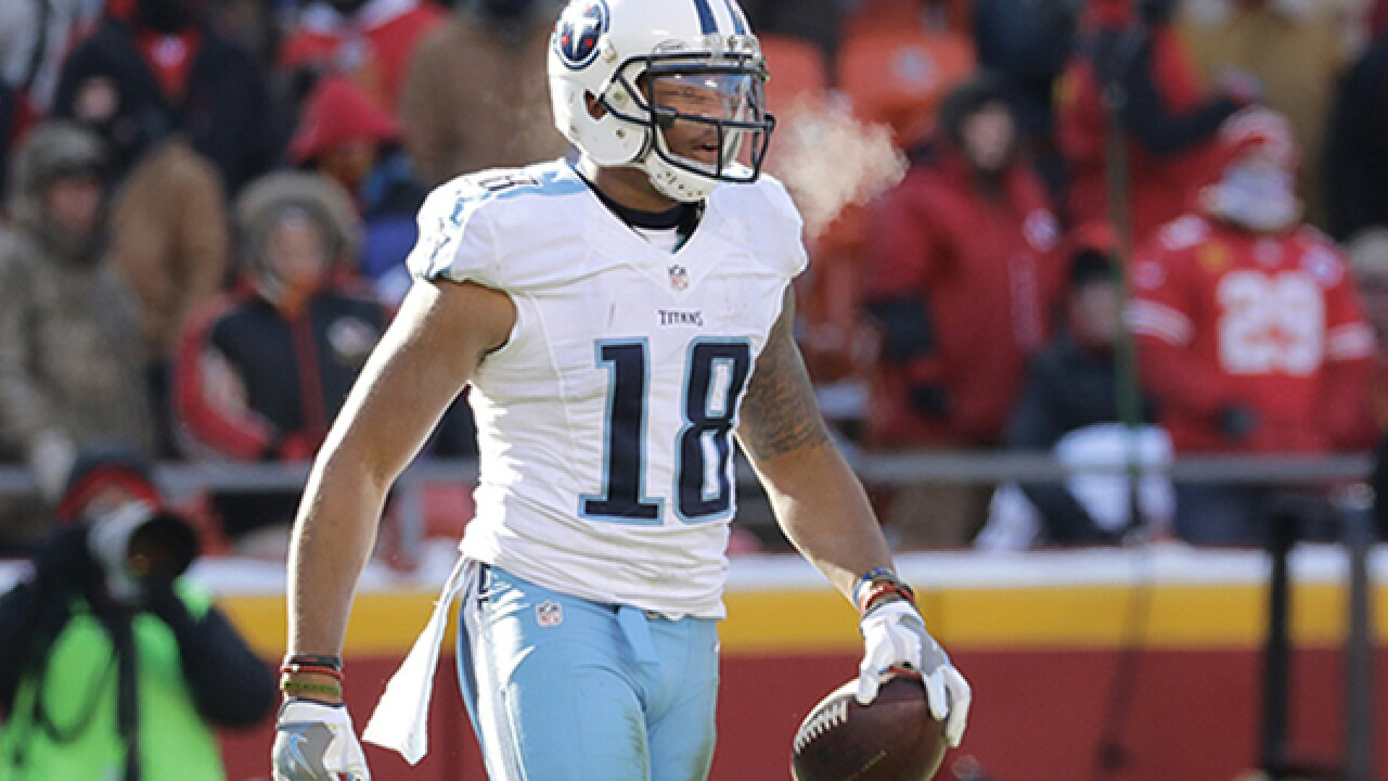 Titans Receiver: Would Quit Over Anthem Rule