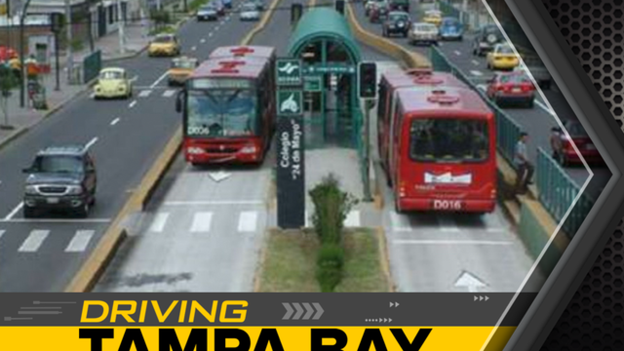 Express bus, rail line proposed to beat traffic