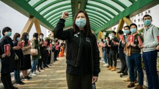 Coronavirus: Thousands of Hong Kong medical workers strike again, calling for closure of Chinese border