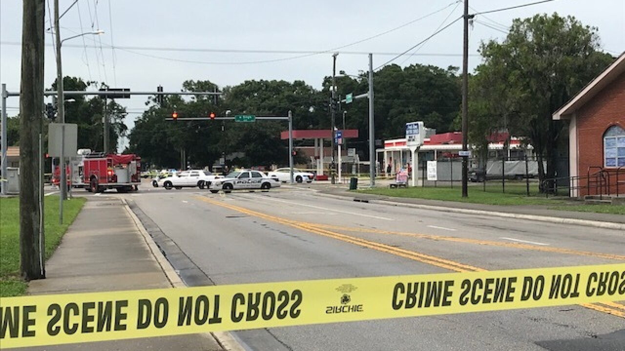 Pedestrian hit by car near Tampa school