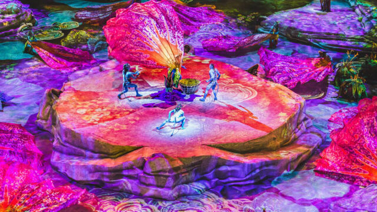 'Avatar' movie gets Cirque du Soleil treatment