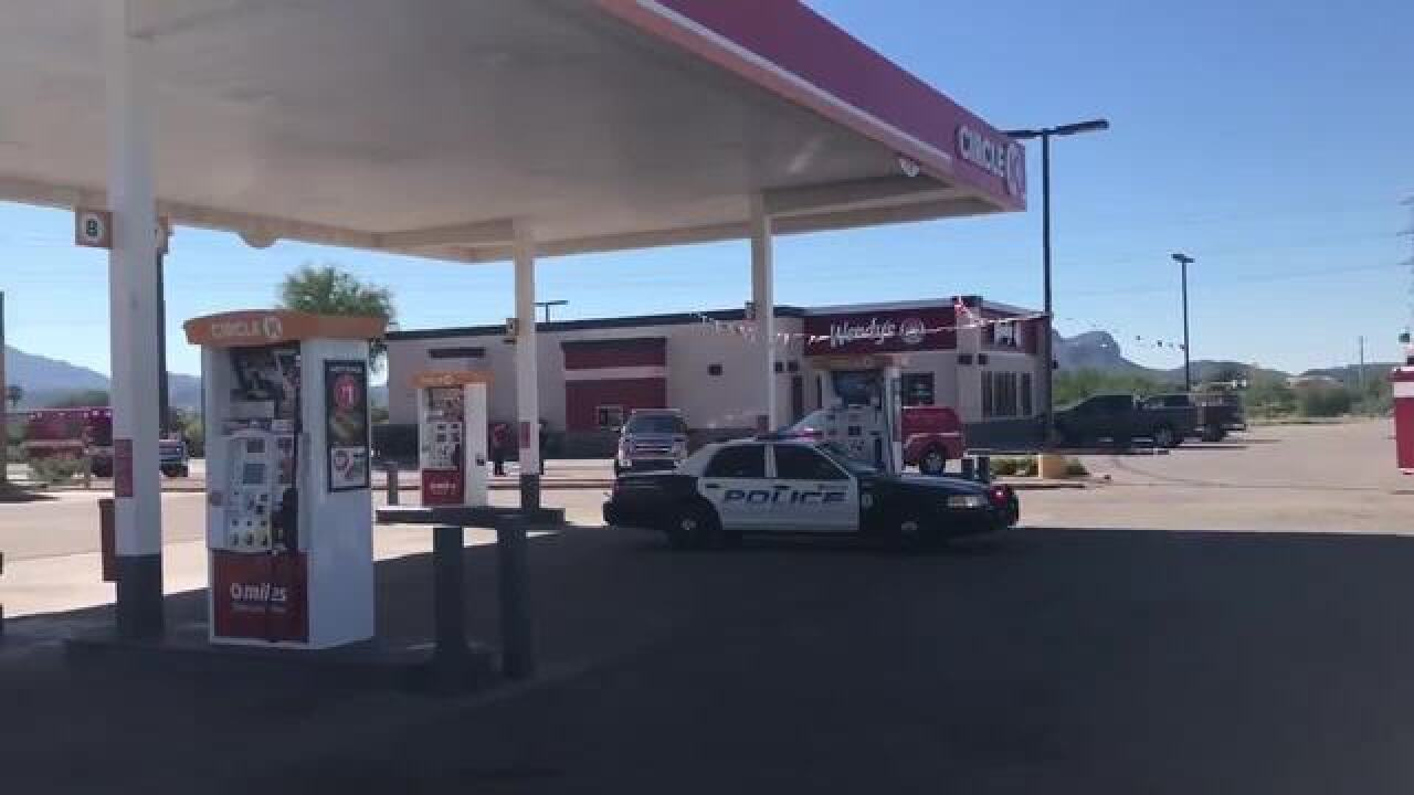 Fire crews respond to Marana hazmat situation