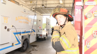 Young firefighter's perseverance paying off as he nears goal of becoming a professional