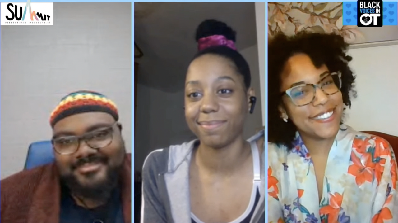 Actors from Black Voices in OT