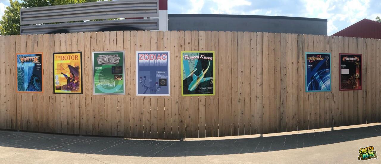 Kings Island teaser posters