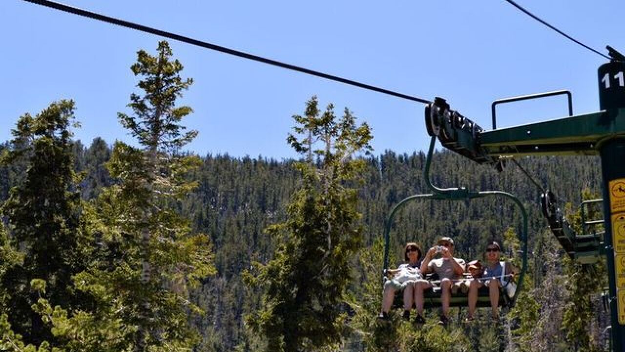 Lee Canyon opens for summer season Friday