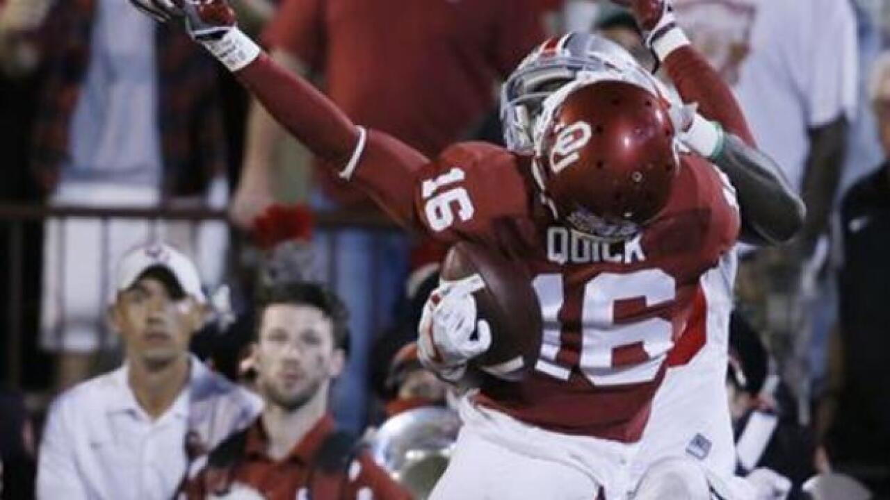 Sooners manhandled by #3 Ohio State, 45-24