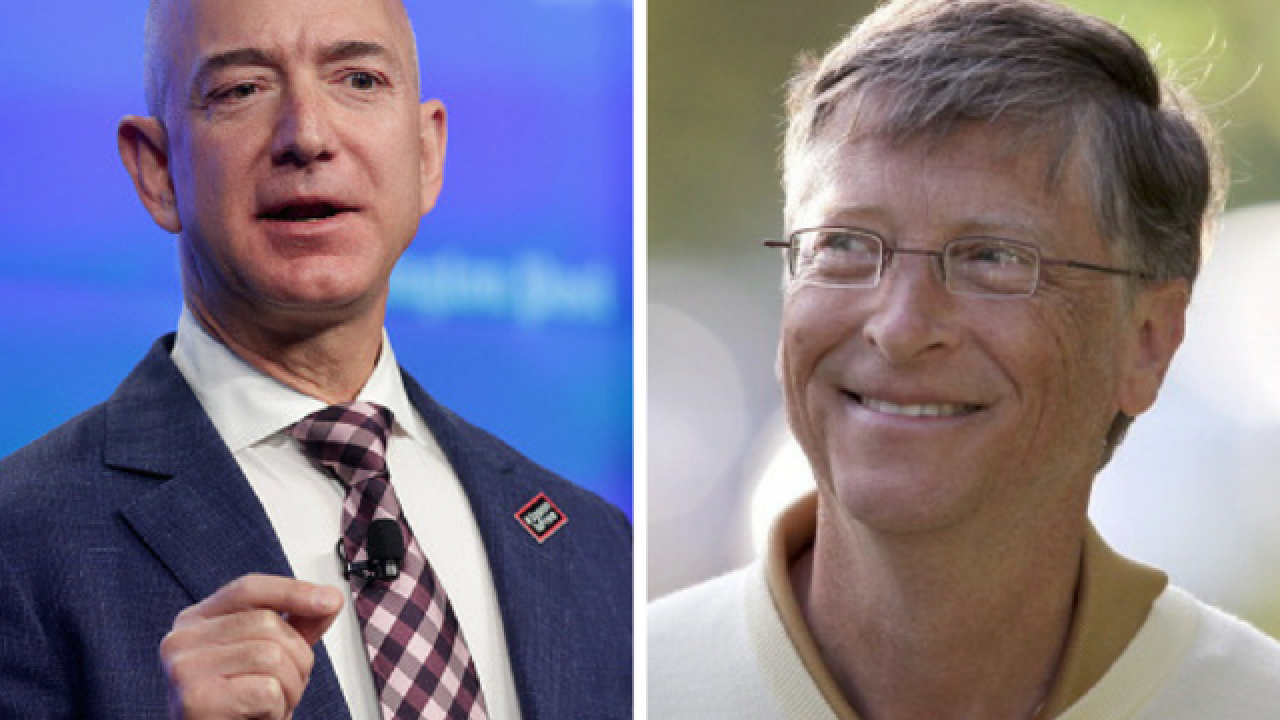 Jeff Bezos Just Passed Bill Gates For World S Richest Person