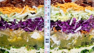 Bush's Made A Record-breaking 70-layer Bean Dip—and It Weighs Over 1,000 Pounds
