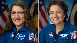 The first all-female spacewalk happening Friday morning