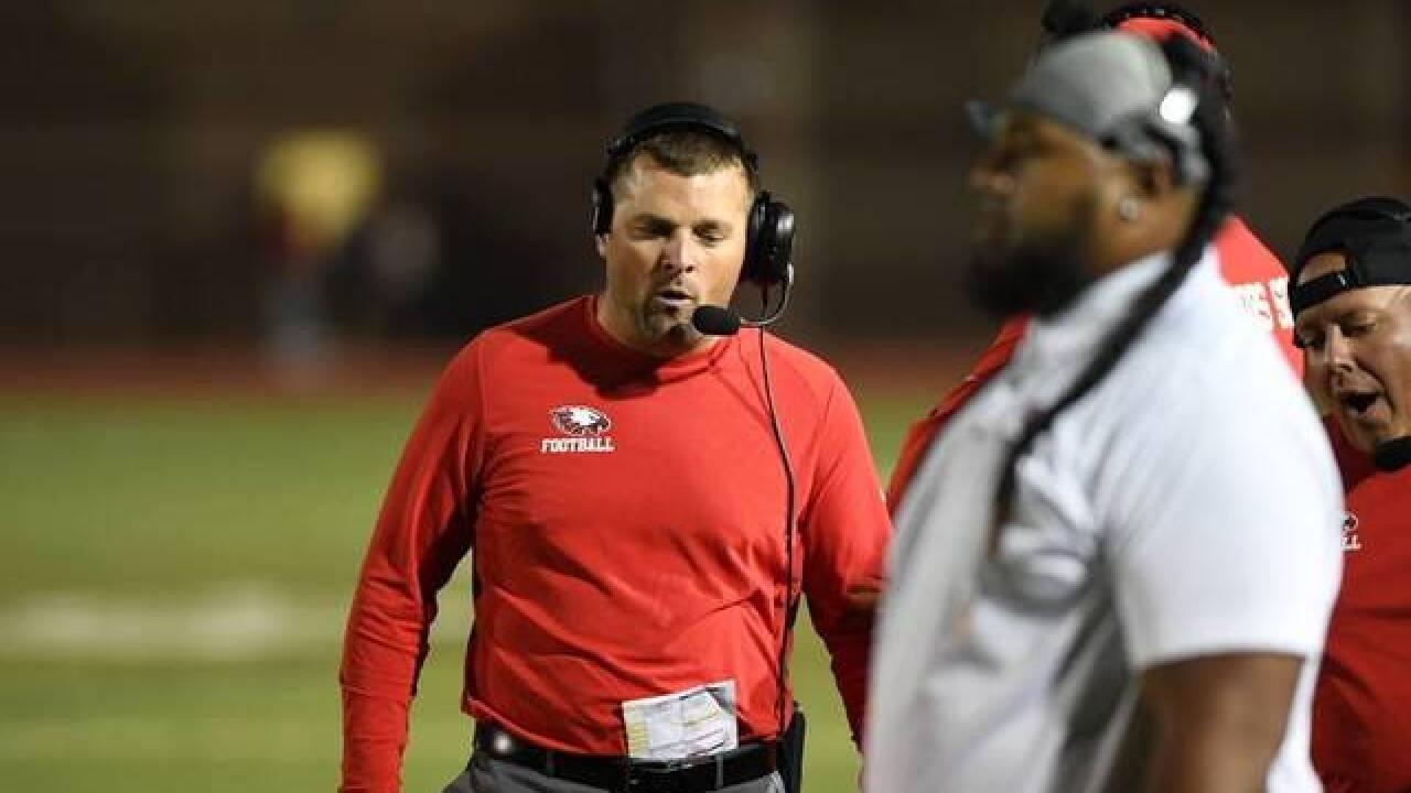 CCSD football coach resigns, blaming district