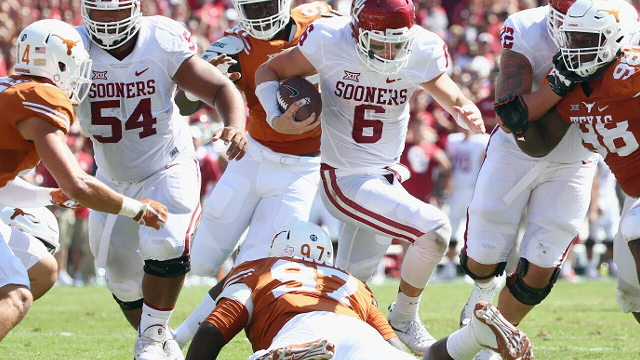5d07e27fd Oklahoma Sooners vs Texas Longhorns and Charlie Strong in Red River Showdown  Saturday in Dallas