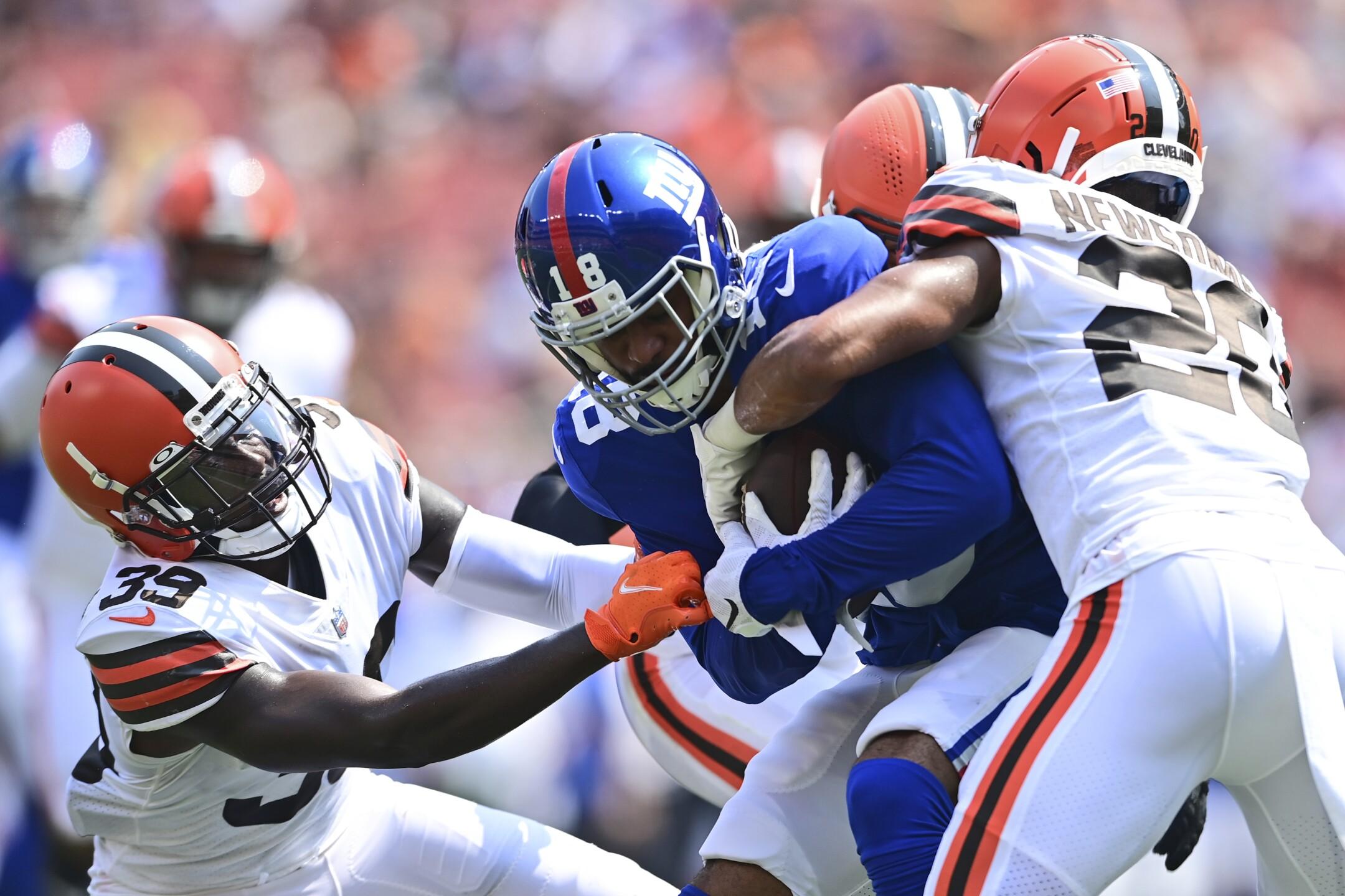 Giants Browns Football
