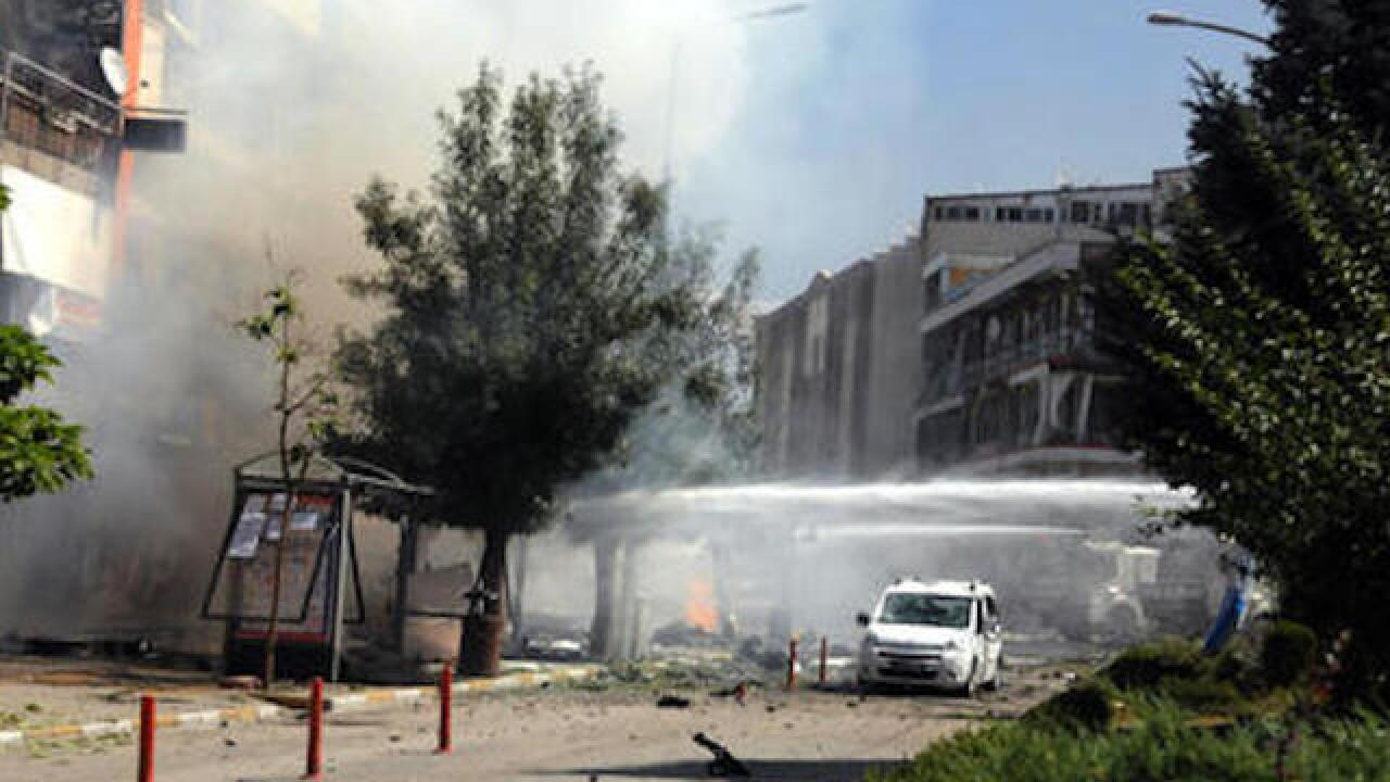 Dozens injured by car bomb in east Turkey