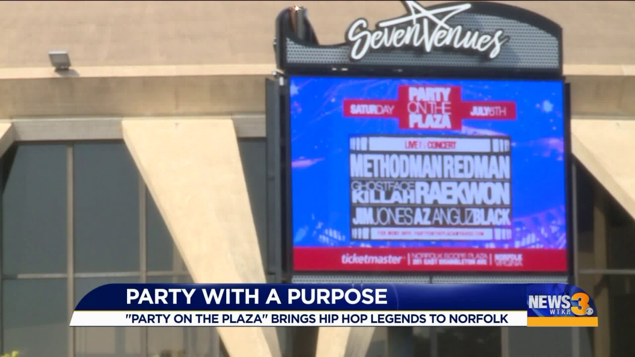 """""""Party on the Plaza"""" to benefit kids at Norfolk PublicSchools"""