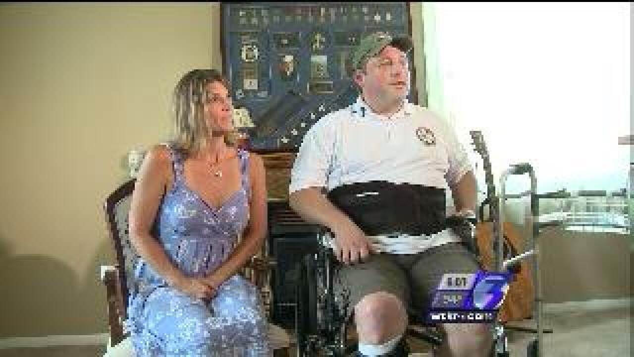 Local wounded warrior takes action to honor Navy SEAL's dying wish