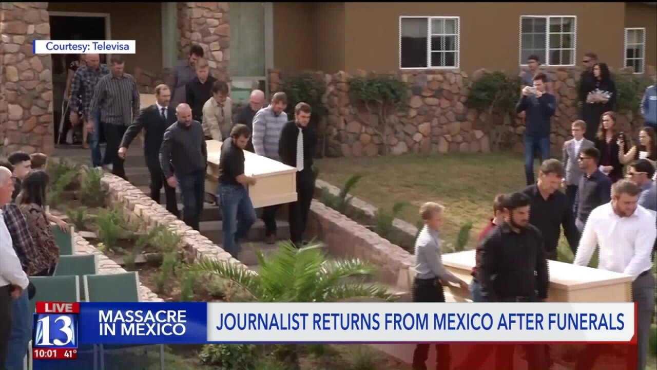 'People have said they are not coming back': Tribune reporter reflects on time in Mexico covering brutal killings of 9 Americans