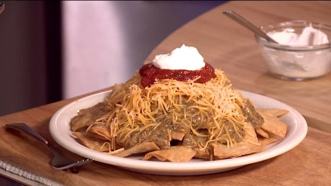 Nacho average Nacho: Breakfast nachosrecipe