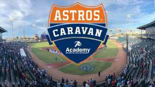 2019 Astros Caravan to stop at Whataburger Field