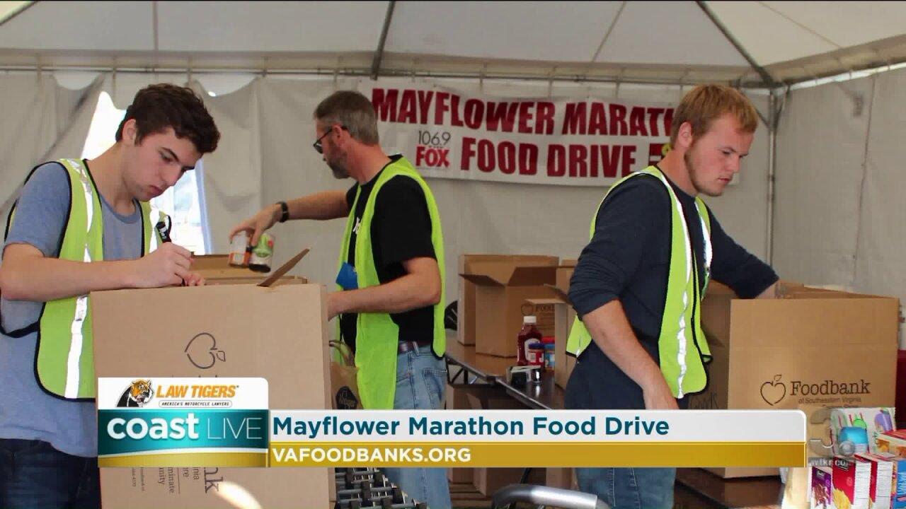 The 23rd Annual Mayflower Marathon Food Drive on CoastLive