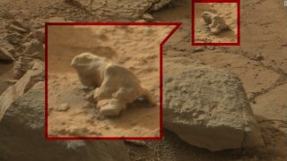 Photos: Mysterious objects in space photos have some convinced of life on Mars