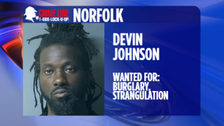 Norfolk Police looking for man wanted for burglary, strangulation